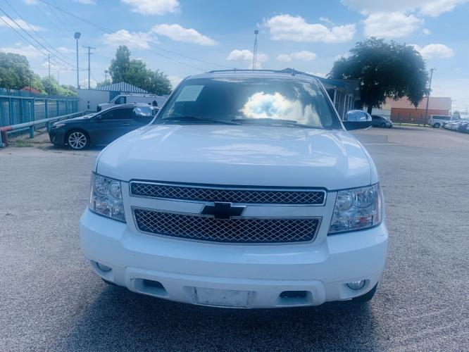 2011 Chevrolet Tahoe LS 2WD (1GNSCAE00BR) with an 5.3L V8 OHV 16V FFV engine, 6-Speed Automatic transmission, located at 7512 C F Hawn Fwy, Dallas, TX, 75217, (214) 391-9600, 32.719147, -96.691788 - Photo #0