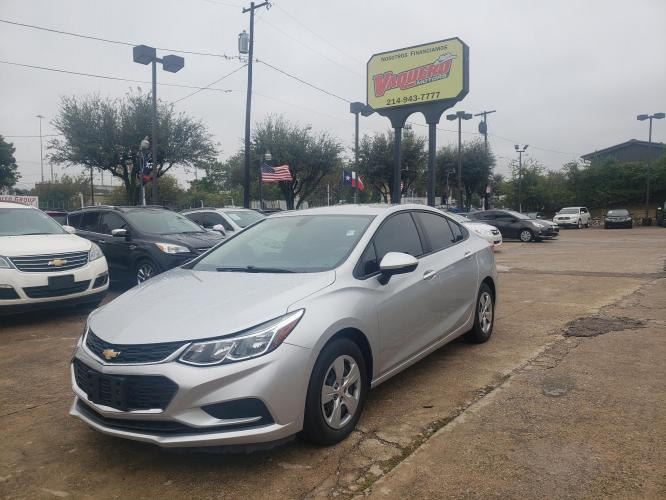 2017 Chevrolet Cruze LS Auto (1G1BC5SM7H7) with an 1.4L L4 DOHC 16V TURBO engine, 6A transmission, located at 7512 C F Hawn Fwy, Dallas, TX, 75217, (214) 391-9600, 32.719147, -96.691788 - Photo #0
